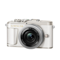Olympus PEN EPL9 16.1 Megapixel Mirrorless Camera with Lens 14 mm 42 mm in Pearl White
