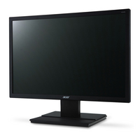 Acer V226WL V6 Series 22 Backlit LED LCD 1610 Monitor in Black