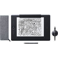 Wacom  Intuos Pro Pen & Touch Tablet Paper Edition, Large, Black