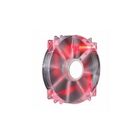 Cooler Master MegaFlow 200  Sleeve Bearing 200mm Red LED Silent Fan