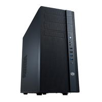 Cooler Master N400 NSeries Mid Tower Computer Case with Fully Meshed Front Panel