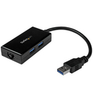 StarTech.com USB 3.0 to Gigabit Network Adapter with BuiltIn 2Port USB Hub  Native Driver Support