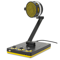 Neat Bumblebee Desktop USB Microphone in Black and Yellow
