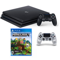 Sony PS4 Minecraft Crystal Controller Bundle