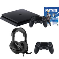 Sony PS4 Fortnite with Controller & Headset