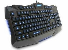 Logitech G413 Wired Mechanical Red LED Backlit Gaming Keyboard in Black