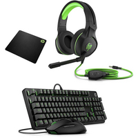 HP Pavilion Mouse, Keyboard, Mousepad, and Headset Gaming Accessory Bundle