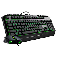 Cooler Master Devastator 3 Tactile Keyboard and Optical Mouse Combo in Black