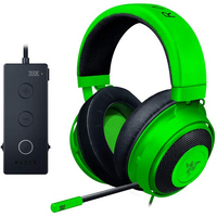 Razer Kraken Tournament Edition Wired Gaming Headset with USB Audio Controller in Green