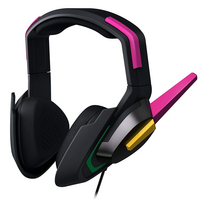 Razer D. Va Razer Meka Over The Head Wired Headset with Mini Phone Microphone. Omnidirectional