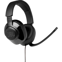 JBL Quantum 200 Wired OverEar Gaming Headset, Black