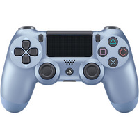 DualShock 4 Wireless Controller for Sony PlayStation 4  Titanium Blue