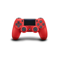 DualShock 4 Wireless Controller for Sony PlayStation 4  Magma (red)