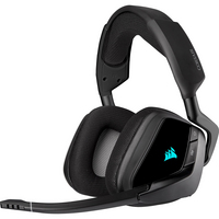 Corsair VOID RGB ELITE Wireless Premium Gaming Headset with 7.1 Surround Sound in Carbon