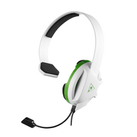 Turtle Beach Recon Chat White Headset for Xbox One in White and Green