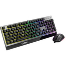 MSI Vigor GK30 RGB LED Gaming Keyboard with Programmable Lighting Effects in Black