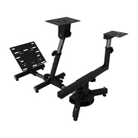 Arozzi Velocita Racing Simulator Stand, 17.3x20.5x52.455.2in, Black