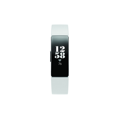 Fitbit Inspire HR Activity and Fitness Tracker in White and Black
