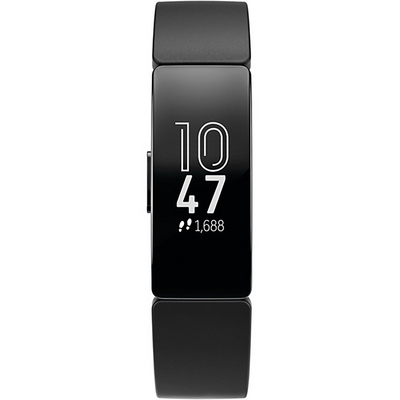 Fitbit Inspire HR Activity and Fitness Tracker in Black on Black
