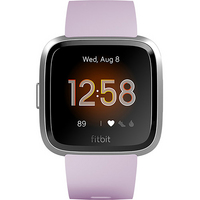 Fitbit Versa Lite Activity and Fitness Tracker in Lilac and Silver