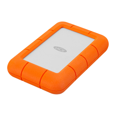 LaCie Rugged Mini, 2TB, Orange