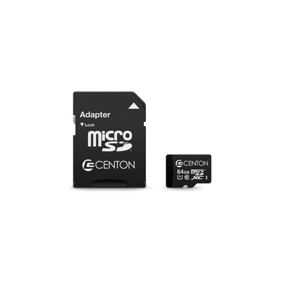Centon Centon MP Essential Micro SDXC Card,UHS1,64GB