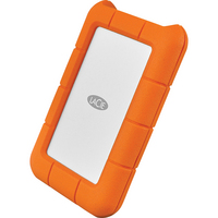 LaCie Rugged USBC,  4TB,  Orange, Orange