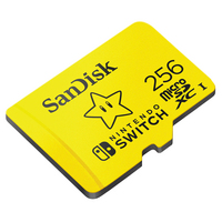 SanDisk 256 GB microSDXC Nintendo Licensed Memory Cards for Nintendo Switch