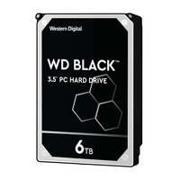 Western Digital WD Black WD6003FZBX 6 TB Hard Drive  3.5 Internal  SATA600