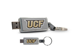 University of Central Florida Custom Logo USB Drive Keychain 16GB