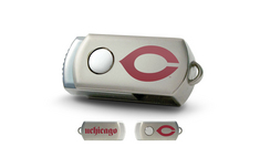 University of Chicago Custom Logo USB Drive DataStick Twist 16GB