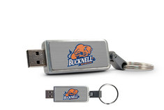 Bucknell University Custom Logo USB Drive Keychain 16GB