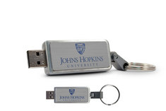 Johns Hopkins University Custom Logo USB Drive Keychain 16GB