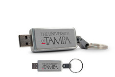 Centon University of Tampa Keychain USB Flash Drive, Classic  16GB