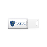 Centon University of Toledo Push USB Flash Drive, Classic  32GB