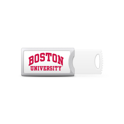 Centon Boston University Push USB Flash Drive, Classic  16GB