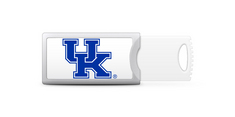 University of Kentucky Custom Logo USB 2.0 Push Drive, 16GB