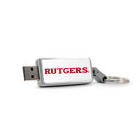 Centon Rutgers University V2 Keychain USB Flash Drive, Classic V1  16GB