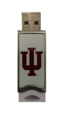 Centon Indiana University Push USB 3.0 Flash Drive, Classic V1  64GB