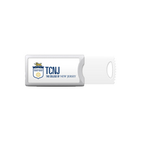 Centon The College of New Jersey Push USB 3.0 Flash Drive, Classic V1  64GB