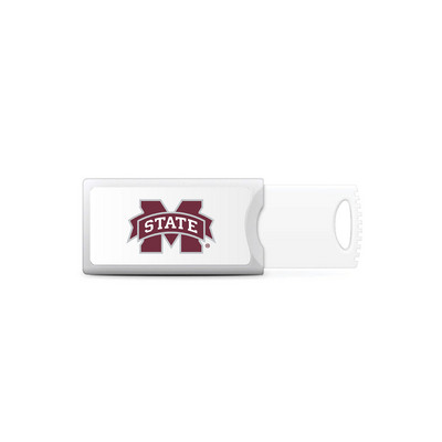Centon Mississippi State University Push USB 3.0 Flash Drive, Classic V1  64GB