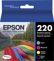 Epson 220 Color Combo Pack Ink