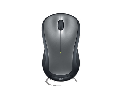 Logitech M310 Full Size Optical Wireless Laser Mouse with Nano Receiver in Black