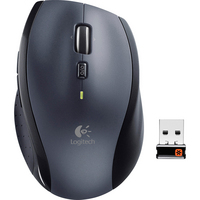 Logitech M705 Marathon Black Wireless Right Handed Laser Mouse