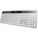 Logitech White Wireless Solar RF Keyboard K750 for Mac
