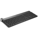 Logitech Craft Advanced Keyboard with Creative Input Dial in Dark Gray and Aluminum