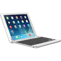 Brydge 9.7 Aluminum Bluetooth Keyboard, iPad Pro 9.7iniPad Air 12, Silver
