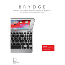 Brydge 7.9 Aluminium Bluetooth Keyboard, iPad Mini 45, Silver