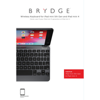 Brydge 7.9 Aluminium Bluetooth Keyboard, iPad Mini 45, Space Gray