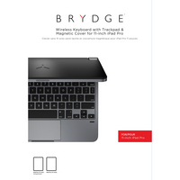 Brydge 11.0 Aluminium Bluetooth Keyboard, iPad Pro 11iPad Air 4, Space Gray
